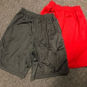 Like new! Boys Russell athletic shorts 2 for $7.00